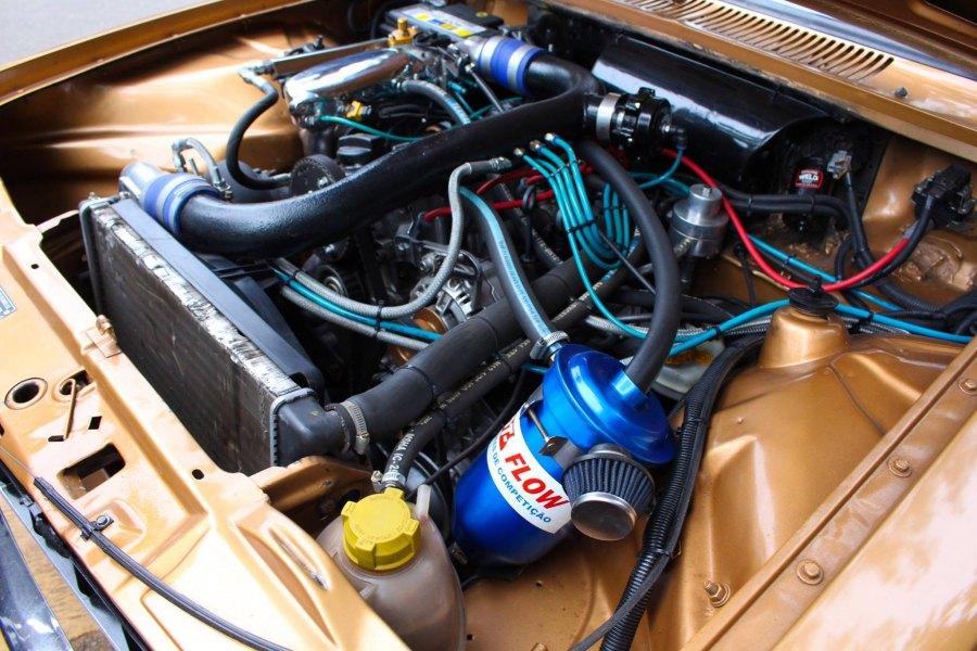 cofre motor AP Turbo Chevette