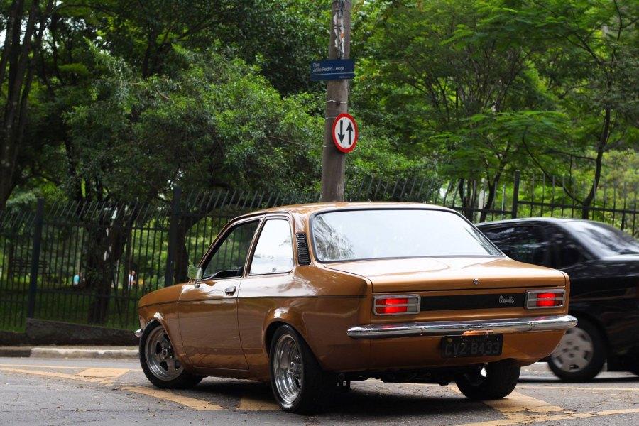 traseira Chevette Turbo