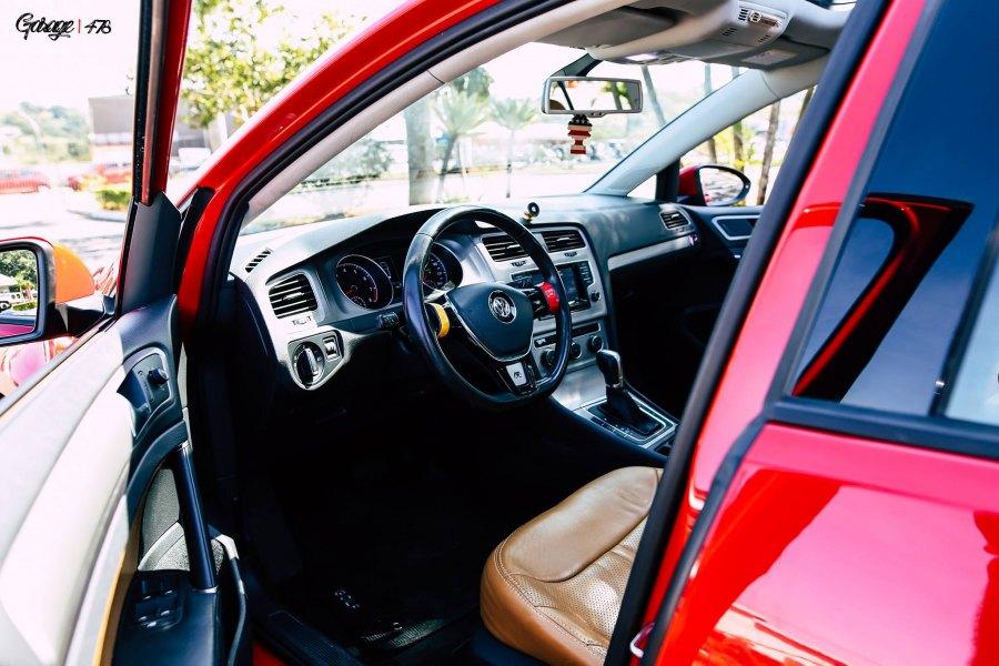 Golf MK7 rebaixado interior