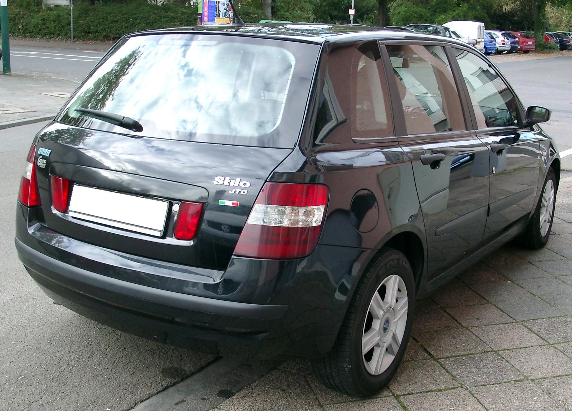 Fiat Stilo rear 20070926
