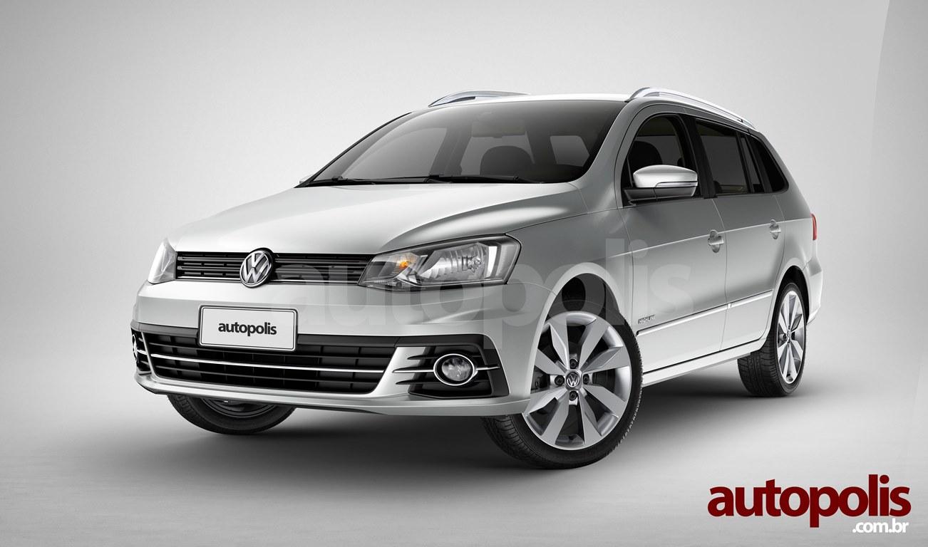 nova VW Parati 2017 01