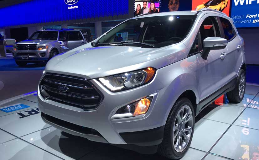 ford ecosport facelift front