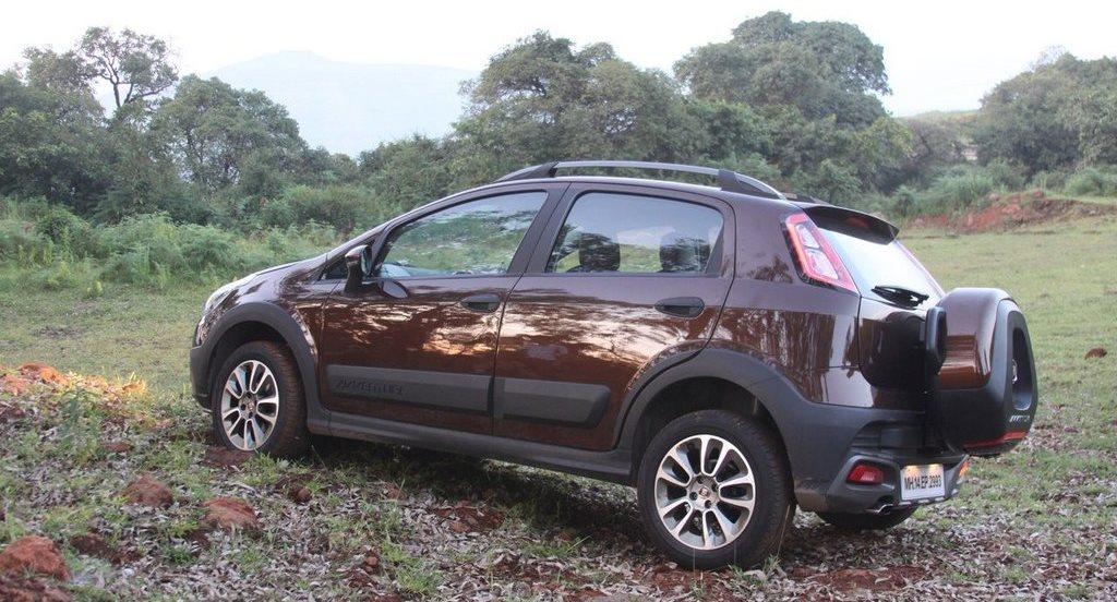 Fiat Avventura 12 Spare wheel