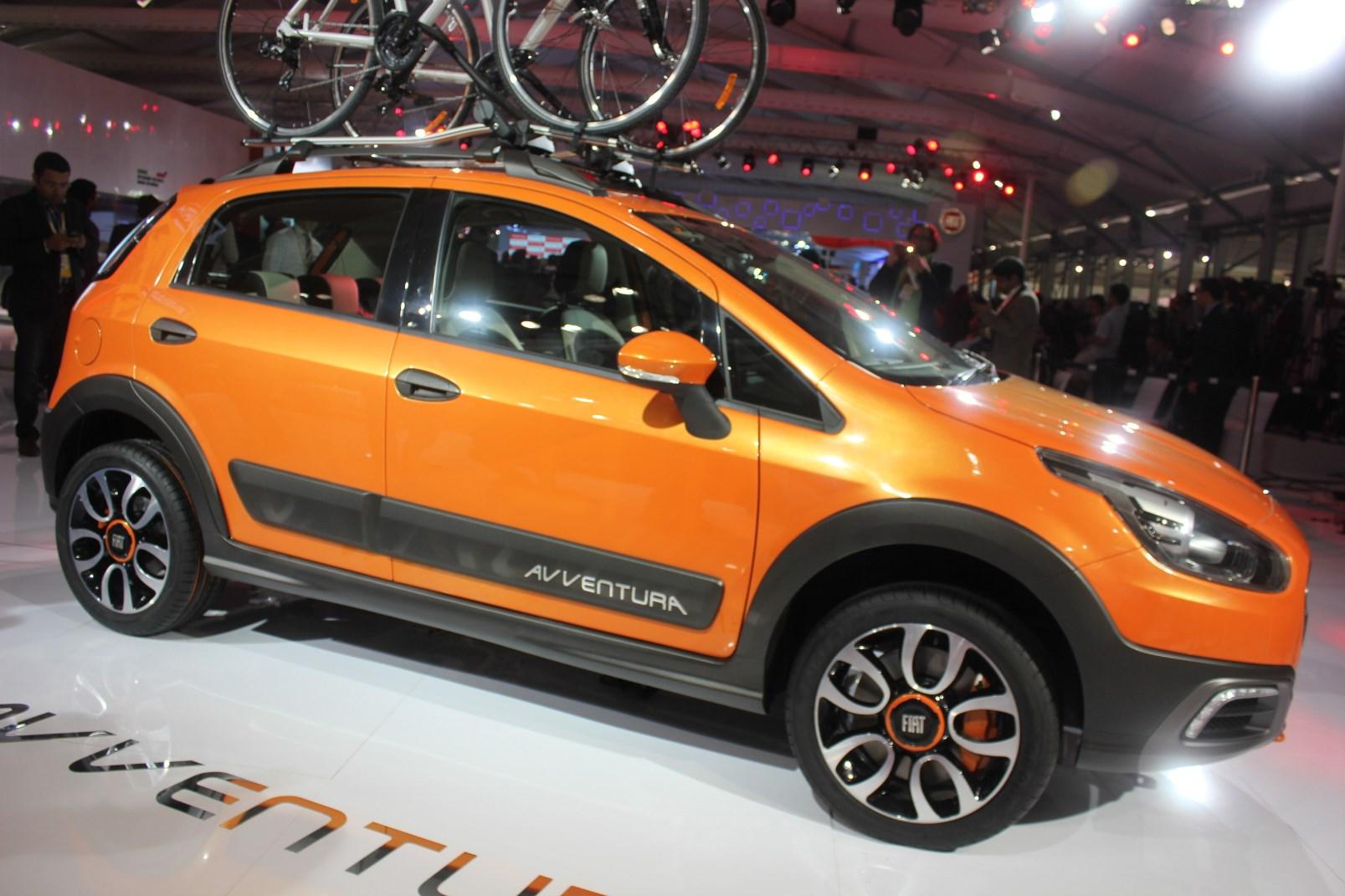 Learn about Punto crossover Fiat Avventura 9