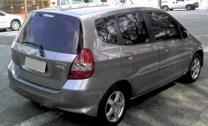 Honda FIT LX 2008 usado perfil