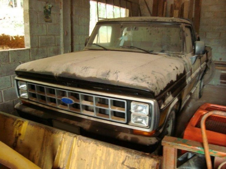 ford f 1000 ficou guardado por anos 01