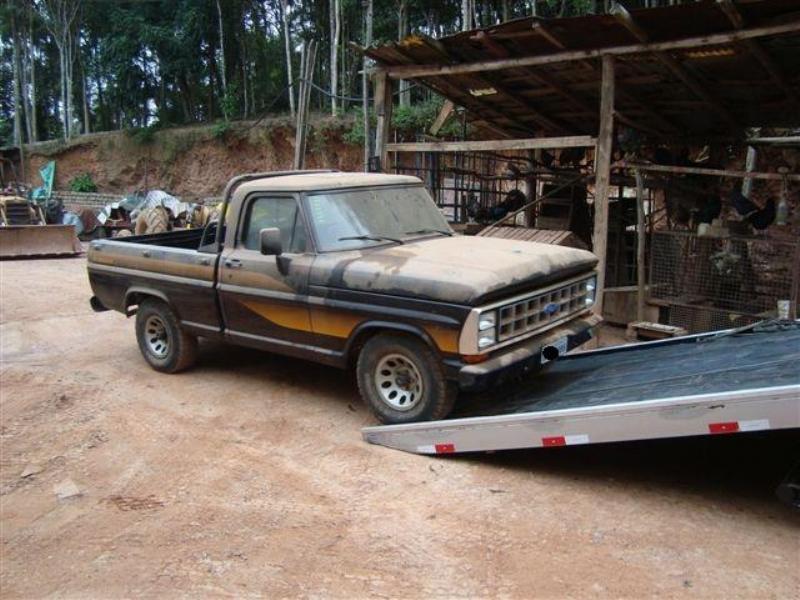 ford f 1000 ficou guardado por anos 04