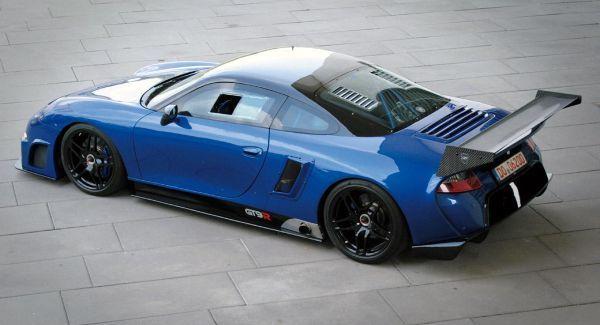 9ff Porsche GT9 R mais veloz