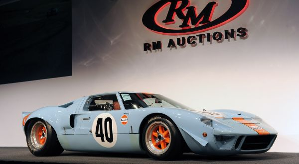 Rare Ford GT40 entre os carros da FORD mais caros do mundo