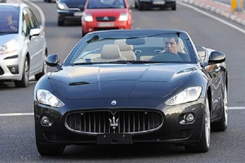 christiano ronaldo car collection maserati grancabrio