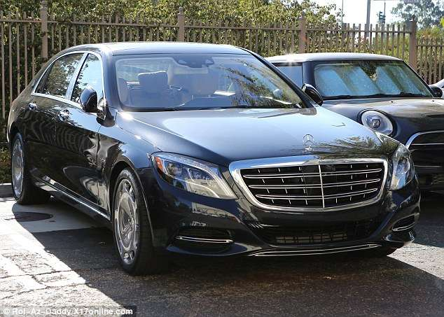 Kylie Jenner s Mercedes Maybach