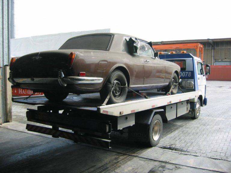 rolls royce 1974 ficou abandonado no porto de santos 03