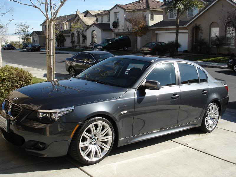 2008 BMW 550i WITH M PACKAGE FOR