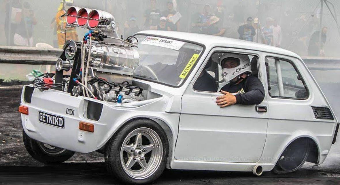 Fiat126 147 burnout