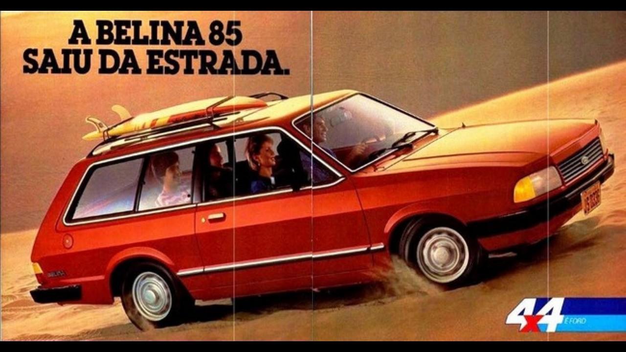 carros para sempre ford belina foi de pioneira a perua mais luxuosa do segmento