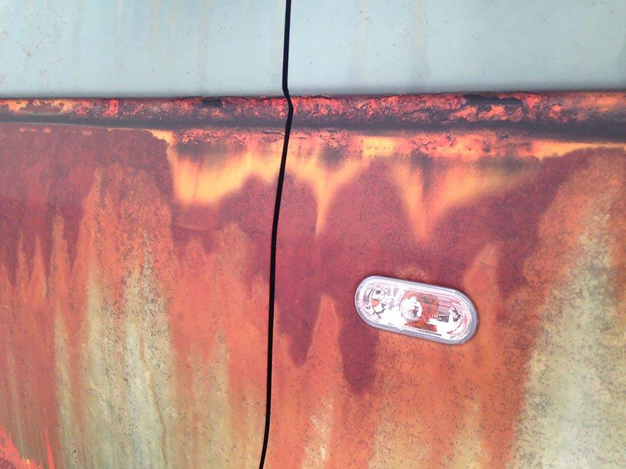 carro camuflagem ferrugem 9