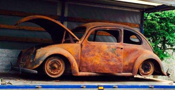 fusca chassi 03 do ano de 1939 foi totalmente restaurado 05