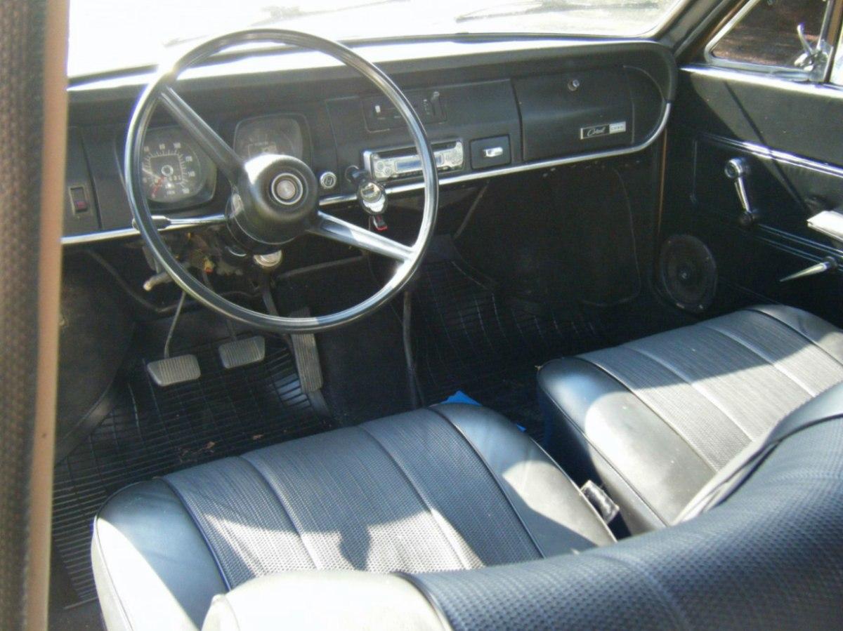 corcel 1 1975 interno