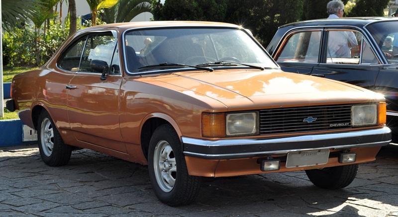 Chevrolet Opala Coupé facelift