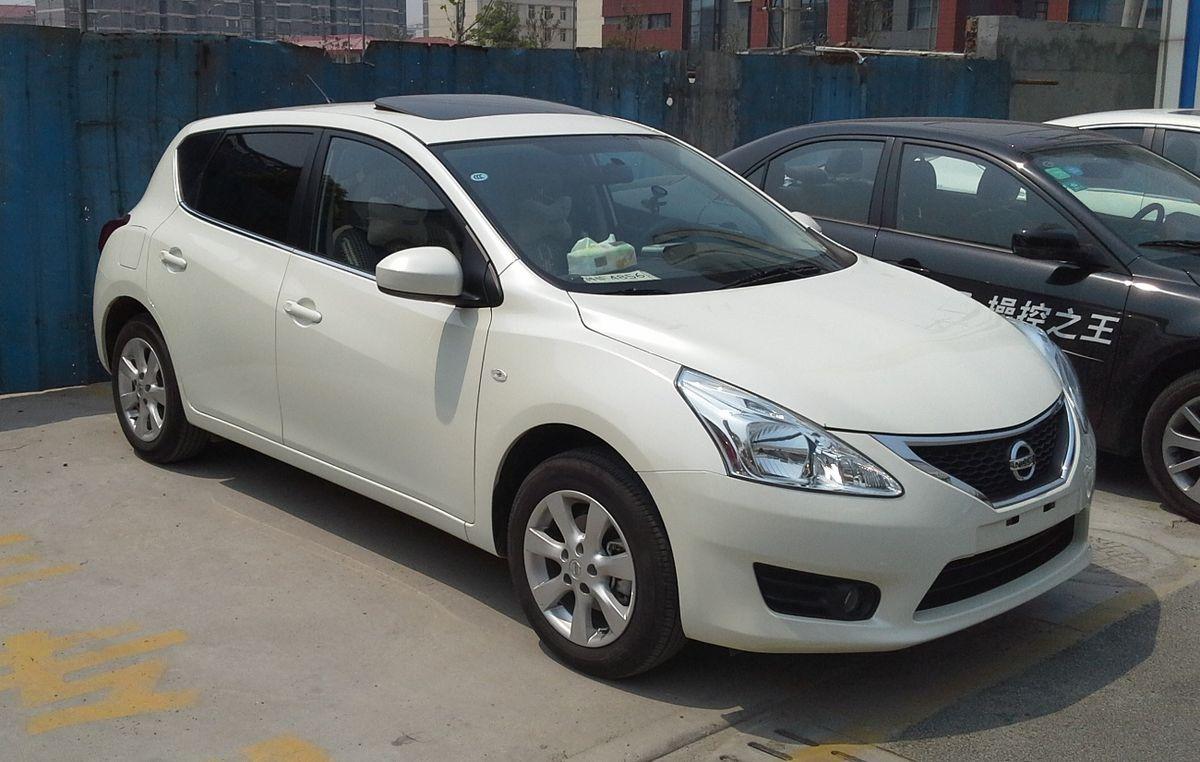 Nissan Tiida C12 China 2014 05 01