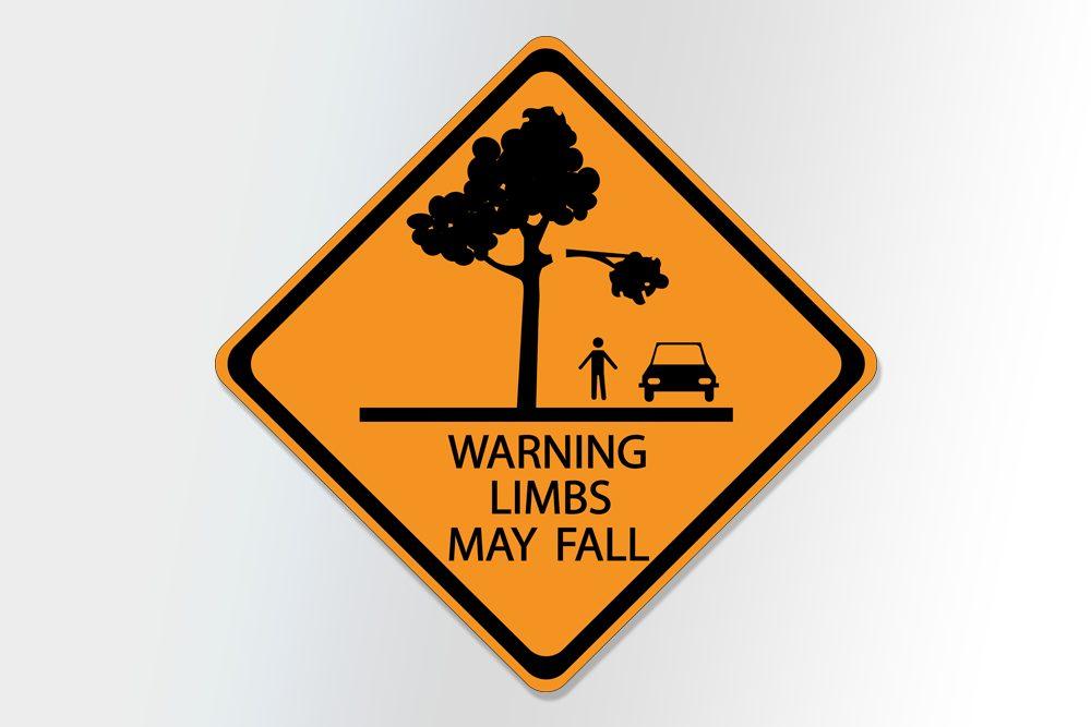 placas de transito bizarras warning limbs