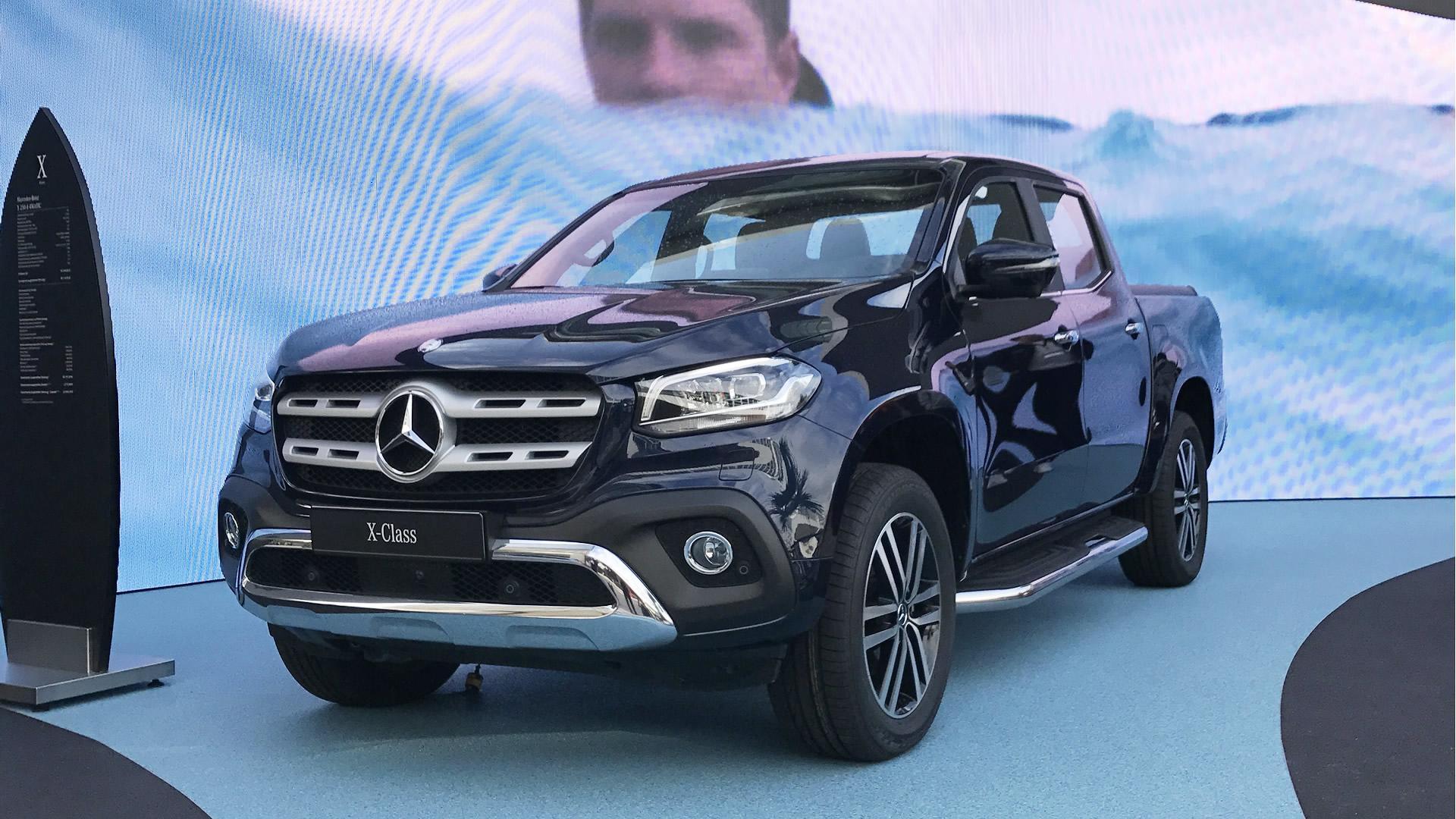 Nova picape da Mercedes-Benz recebe pacotes de ...