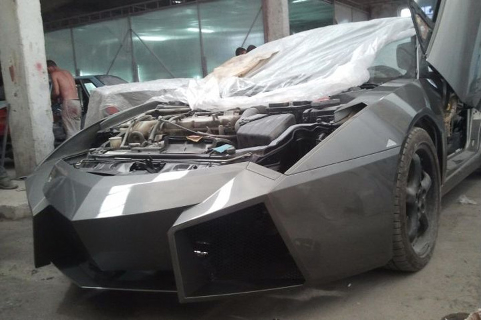 remember when a guy turned a mitsubishi into a lamborghini 1