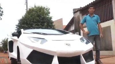 brazilian man turns 2002 fiat uno into lamborghini aventador with just 800