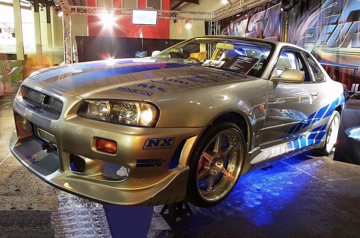2 Fast 2 Furious Brian OConners Skyline R34 GT R Left Side