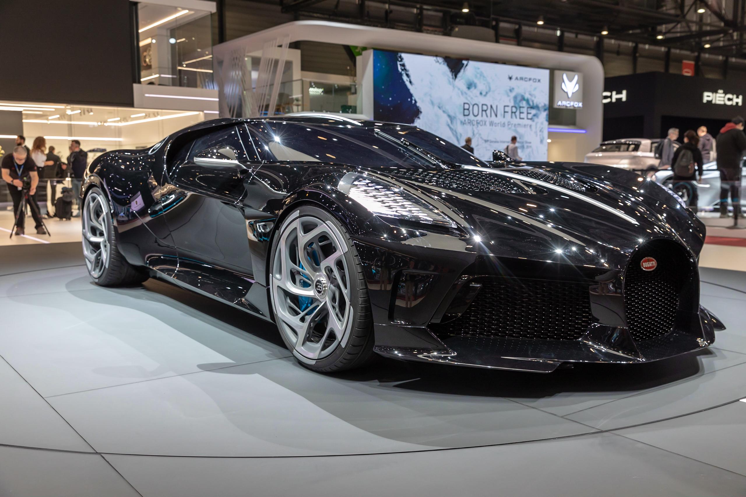 Bugatti La Voiture Noire GIMS 2019 Le Grand