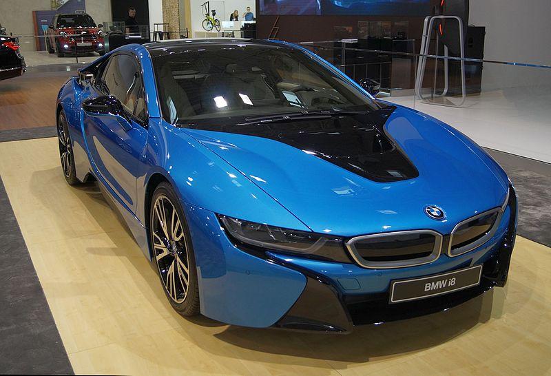 BMW i8 przód MSP16
