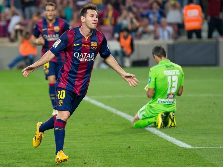 Leo Messi v Granada 2014