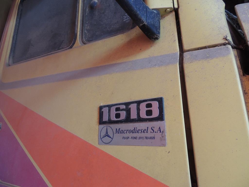 raridade mercedes benz 1618 10