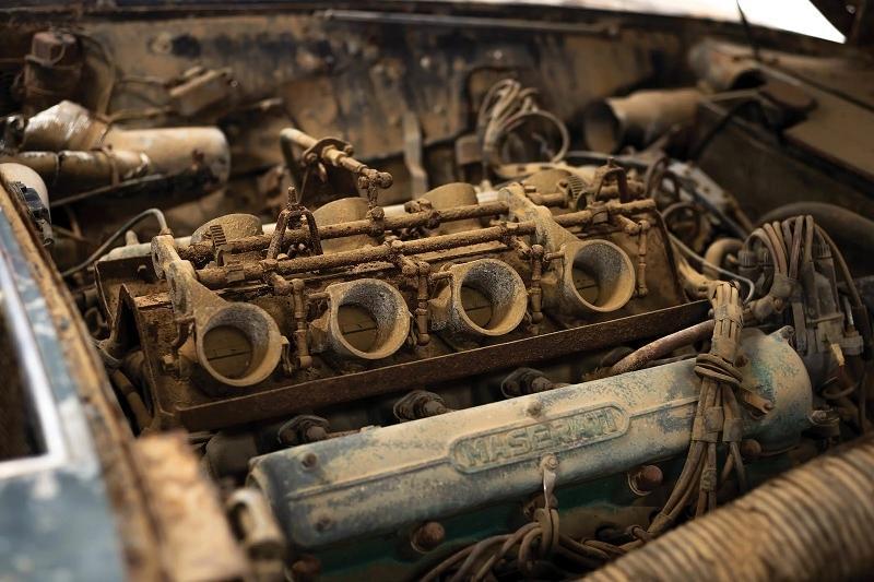 Maserati 5000 GT Engine