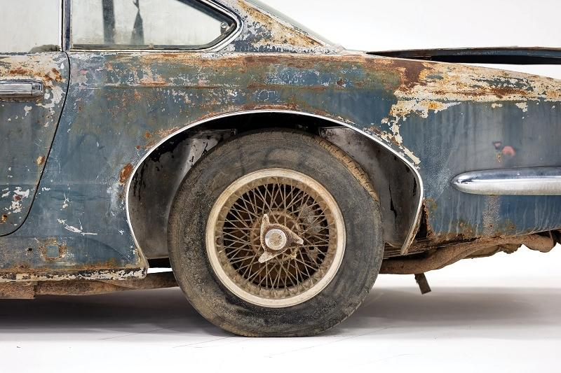 Maserati 5000 GT Wire Wheels