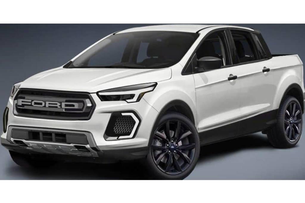 Ford pode ter picape baseada no Focus com porte de