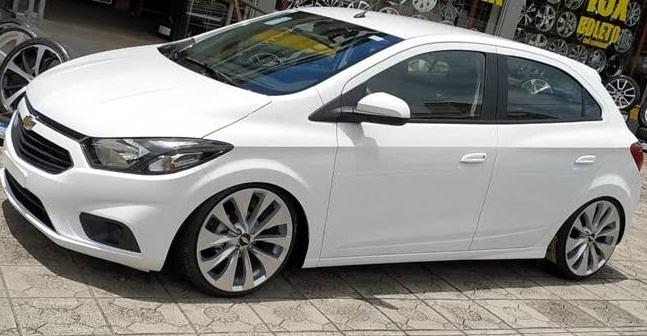 Chevrolet Onix rebaixado, o Carro mais vendido do Brasil