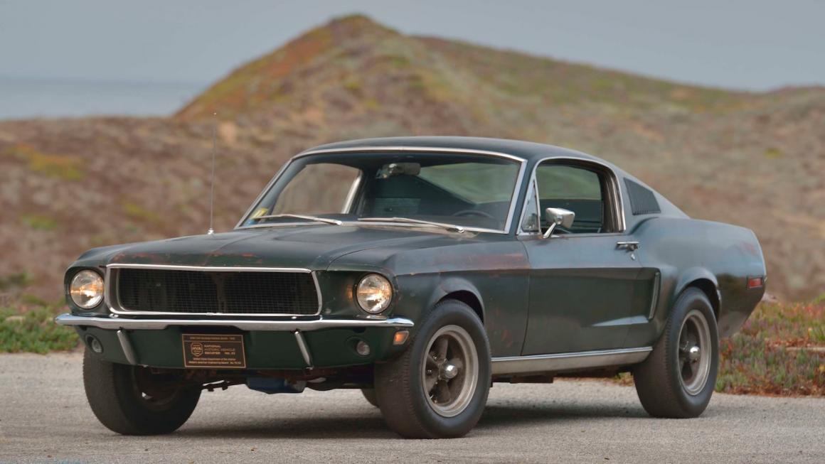 Ford Mustang GT 1968 original do filme Bullitt