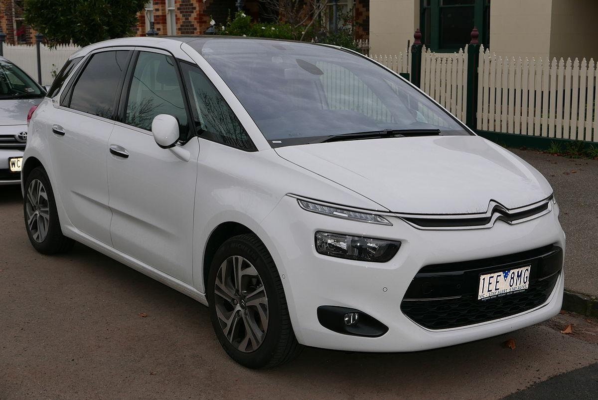 2015 Citroën C4 Picasso B7 MY15 Exclusive e THP wagon 2015 06 15 01