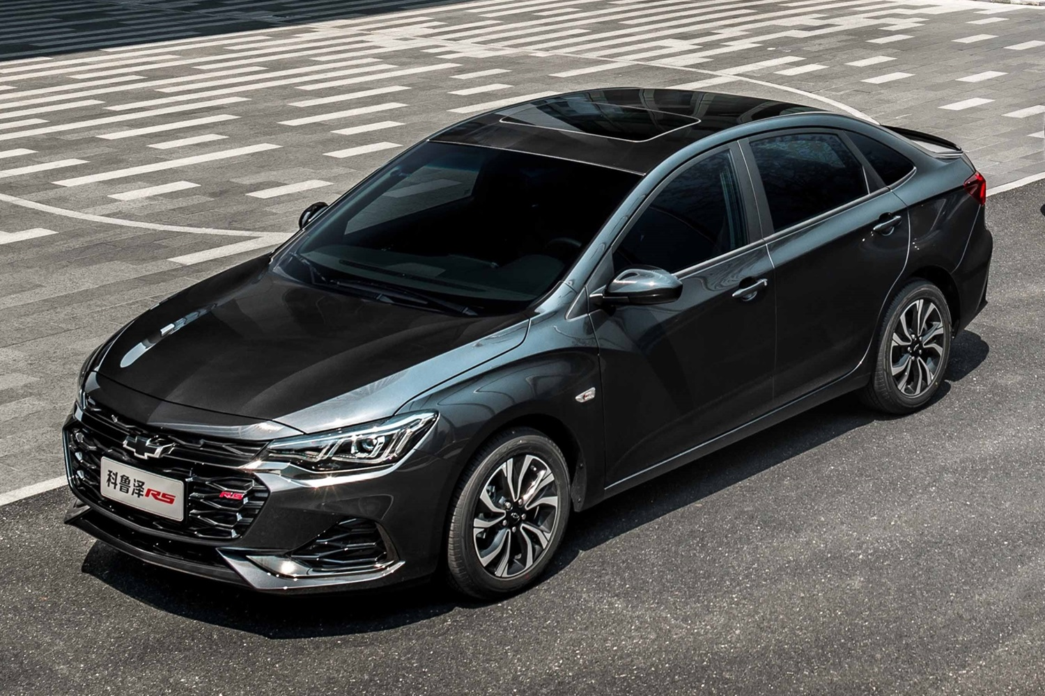 2021 Chevrolet Monza RS Mild hybrid China exterior 02