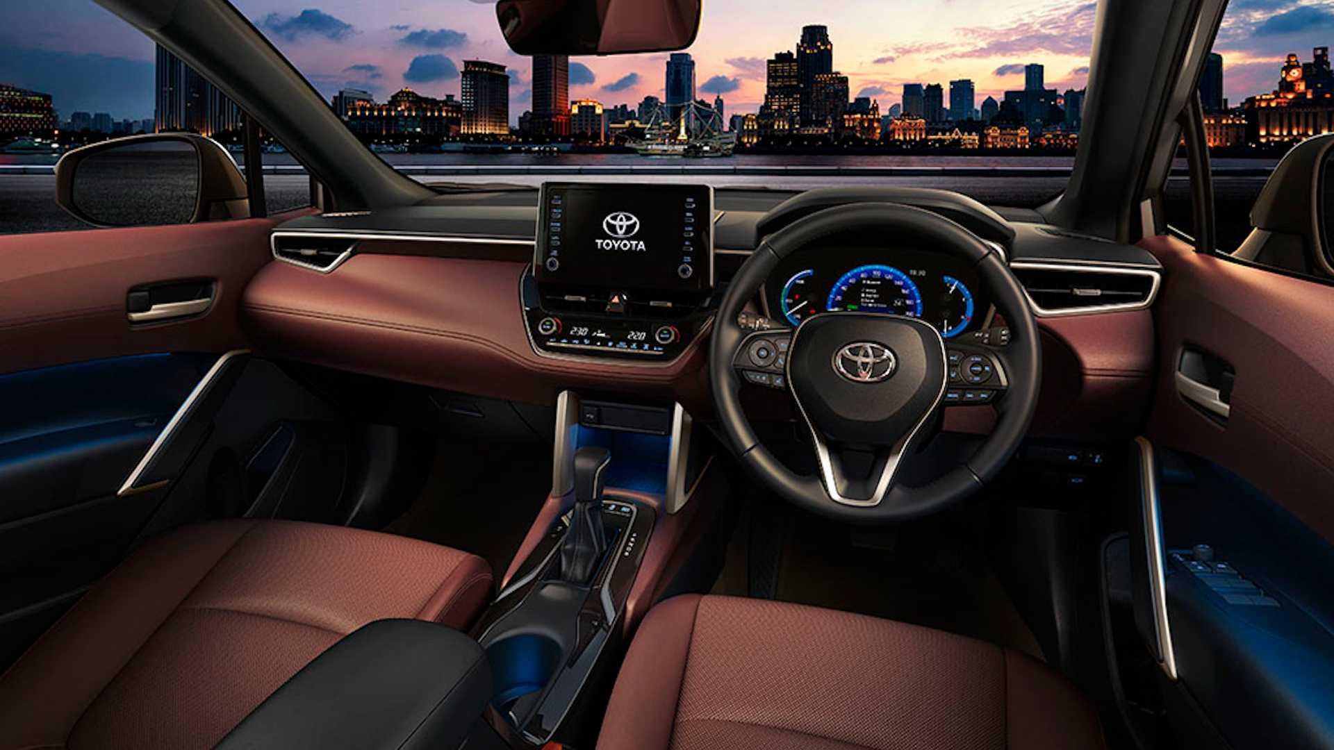 2021 toyota corolla cross in thailand 3