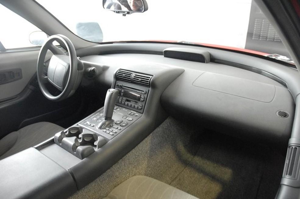 Interior de um EV1 encontrado em uma universidade dos Estados Unidos (Foto: Reprodução/WikiCommons)